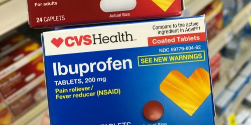 FREE CVS Health Ibuprofen | Today & In-Store Only