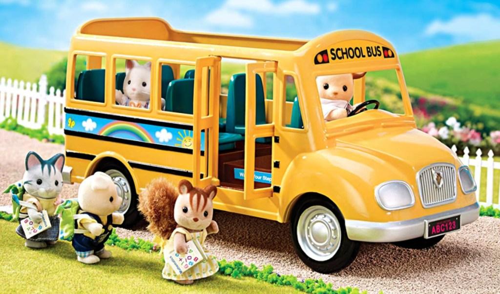 Calico Critters School Bus