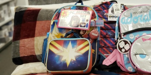 Character Backpack 5-Piece Sets Just $13.99 Shipped for Kohl's Cardholders (Regularly $40)