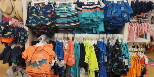 Up to 75% Off Carter's Swimwear, Uniform Separates & More