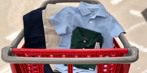 Cat & Jack Uniform Polos Just $3 at Target | In-Store & Online