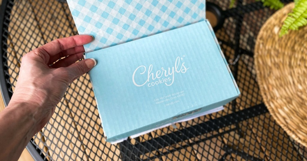 Cheryl's cookie box