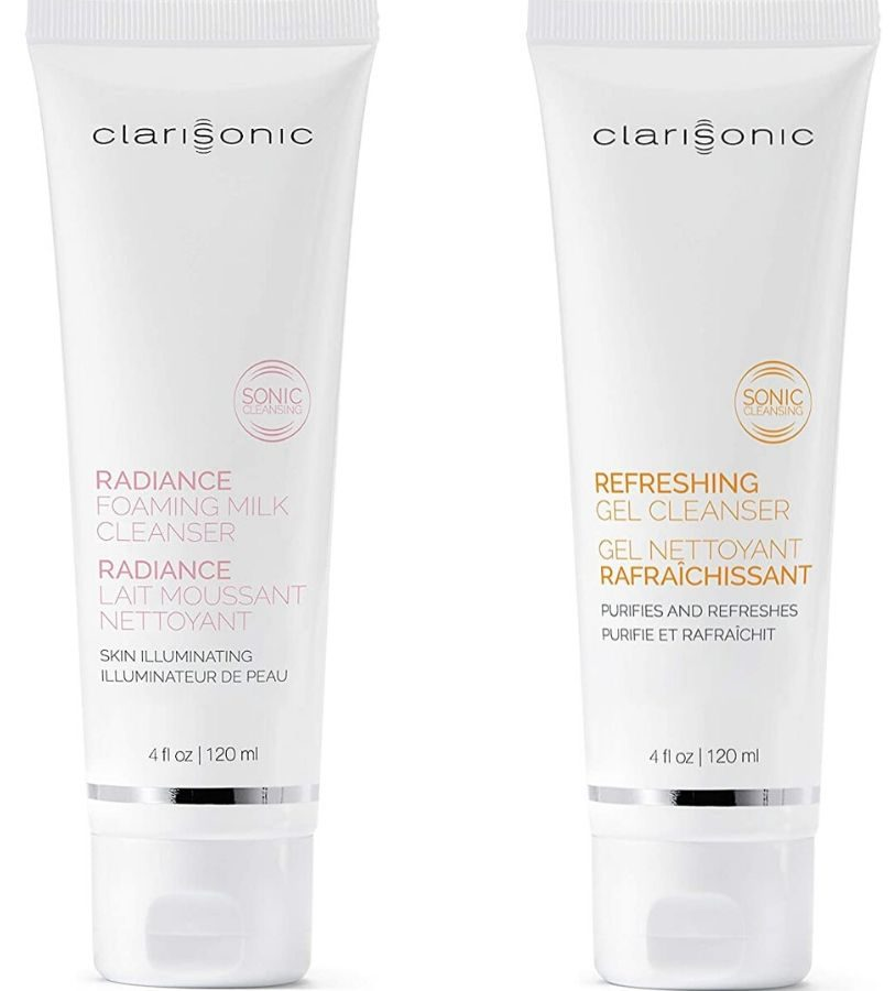 two clarisonic facial cleansers