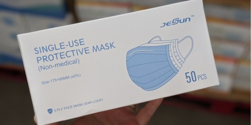 Disposable Face Masks from 30¢ Each at Sam's Club
