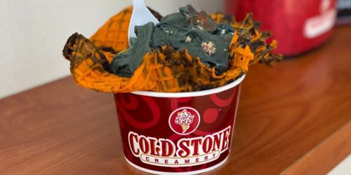 Boo Batter Ice Cream is Back at Cold Stone Creamery for the Entire Month of October