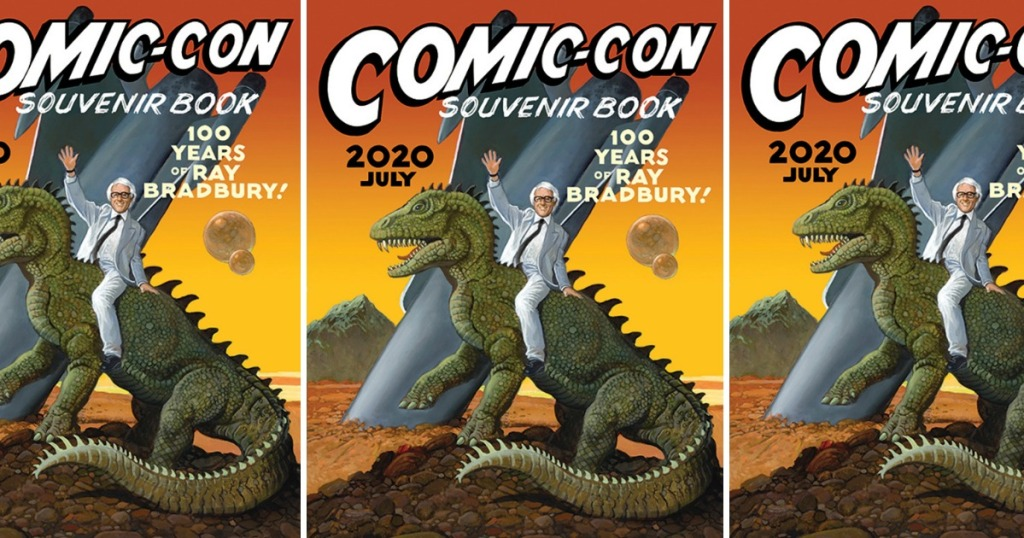 three images of the Comic Con Souvenir Book