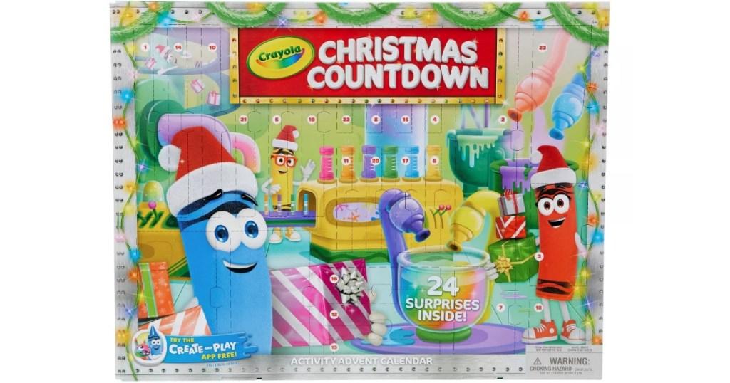 Crayola Christmas Countdown Box