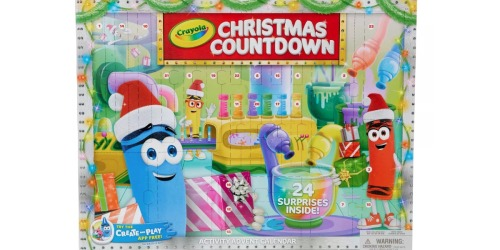 Crayola Christmas Countdown Advent Calendar Only $9.99 on Kohls.com (Regularly $15)