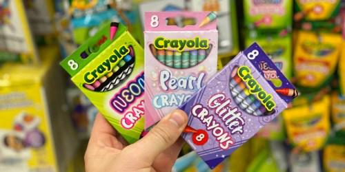 Crayola Crayons Just $1 at Dollar Tree | Neon, Pearl, & Glitter