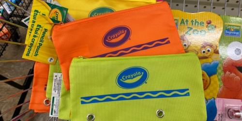 Crayola School Supplies Only $1 at Dollar Tree | Pencil Pouch, Crayons, Glue & More