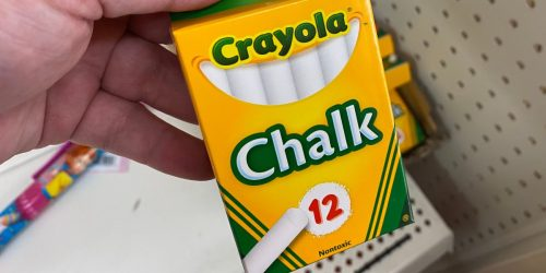 Crayola Chalk 12-Count Only 99¢ on Amazon or Target