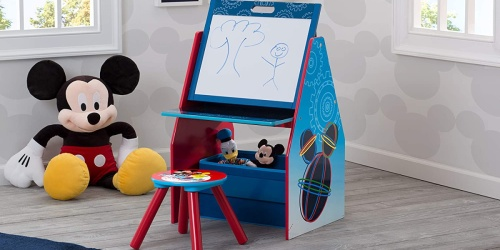 Delta Art Desk w/ Stool & Toy Bin Only $38.50 Shipped on Amazon | Disney or Paw Patrol