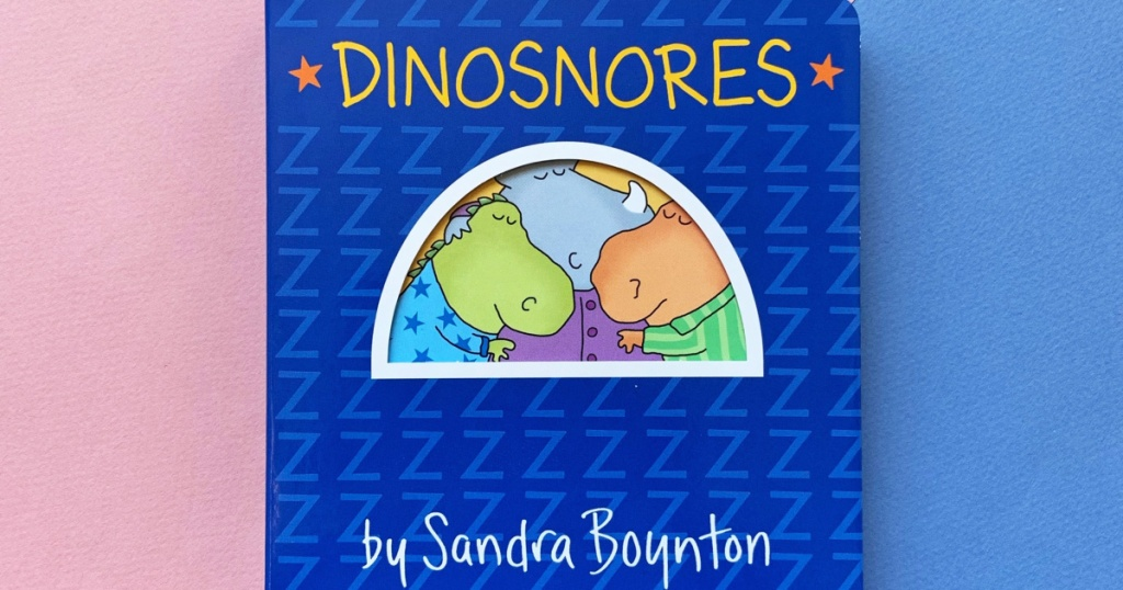 kids dinosaur board book