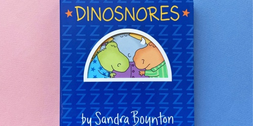Dinosnores Board Book Only $2.50 on Walmart.com (Regularly $7)