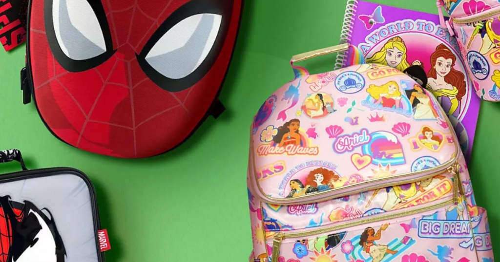 Disney Backpacks & Lunch Boxes