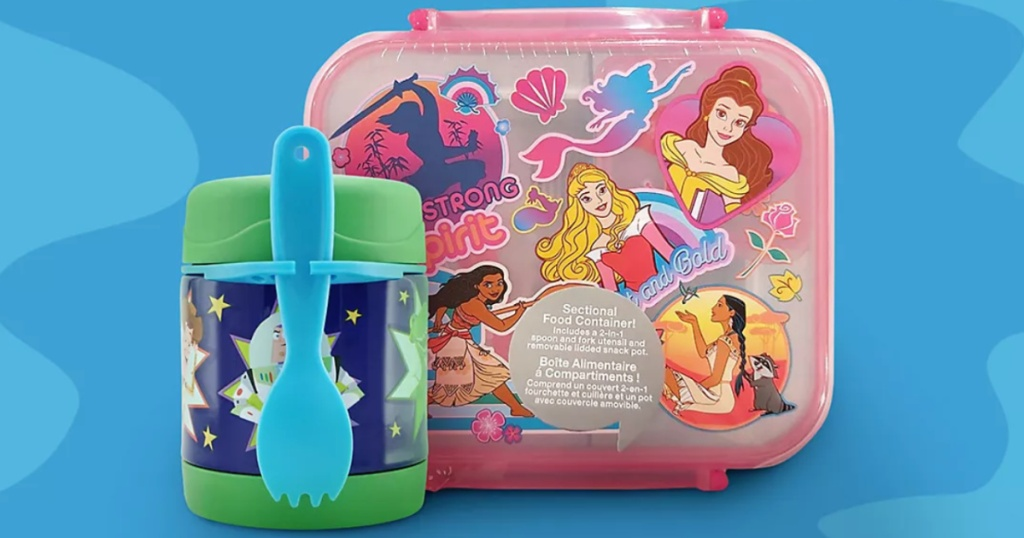 Disney Food Storage Containers