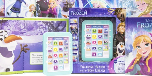 Disney Frozen Electronic Reader & 8 Books Only $14 on Amazon (Regularly $33)