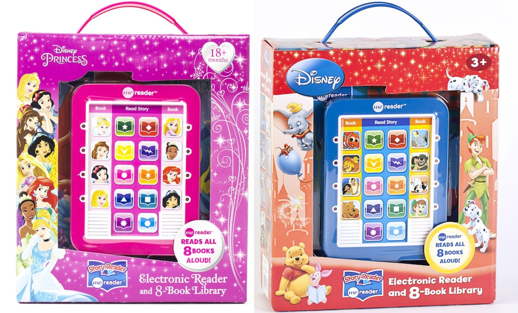 disney princess and disney classic electronic book reader sets