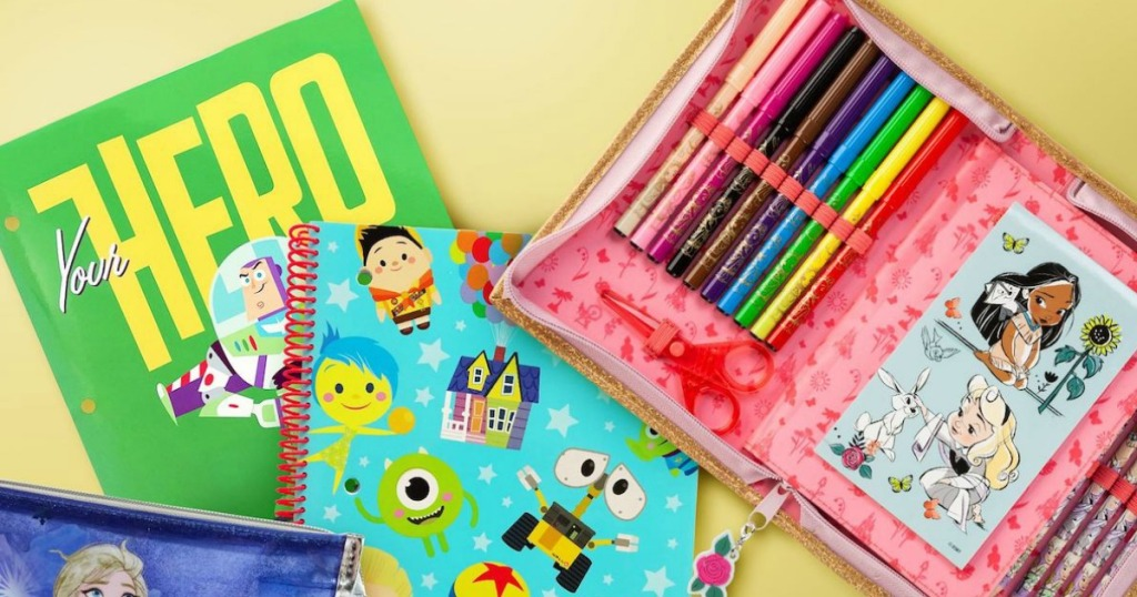 Disney stationary and notebook