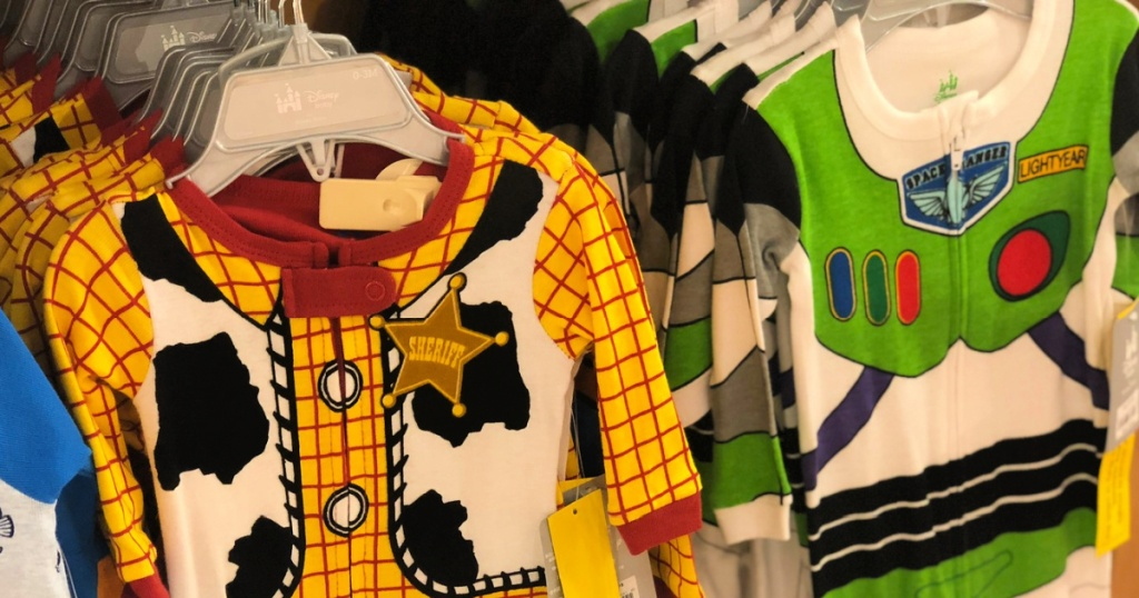 Disney Toy Story pajamas in store