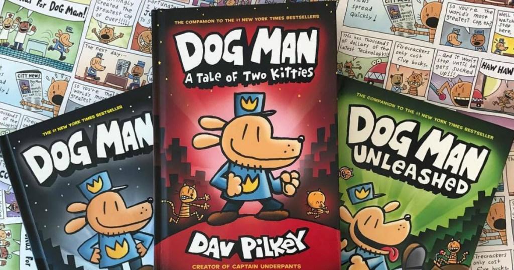 three dog man books