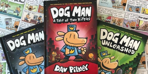 Dog Man 6-Book Collection Only $38.96 Shipped on Amazon (Regularly $60)