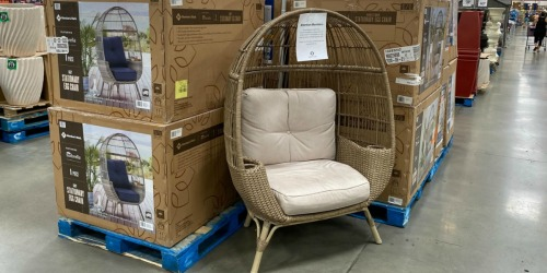 Member's Mark Patio Egg Chair Only $249.91 at Sam's Club