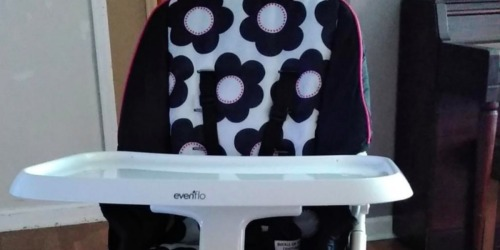 Evenflo High Chair Only $44.99 Shipped on Walmart.com (Regularly $70) | Folds Flat for Storage