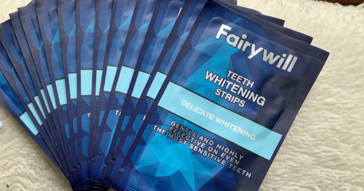 Teeth Whitening Strips 28 Count Only 9 99 On Amazon Great For