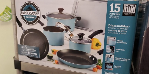 Farberware Cookware Set Only $28.99 Shipped After Rebate (Regularly $120) + Get $10 Kohl's Cash