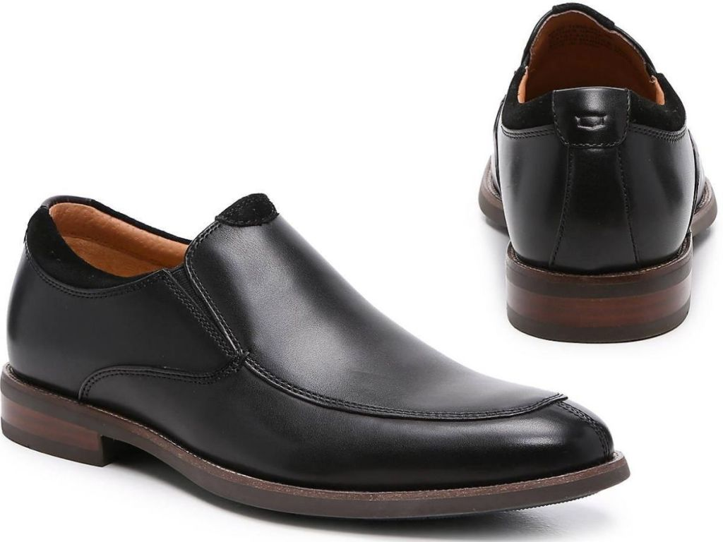 men's slip on leather dress shoes