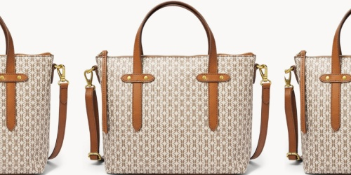 Fossil Tote or Satchel Only $28.95 Shipped (Regularly $138)