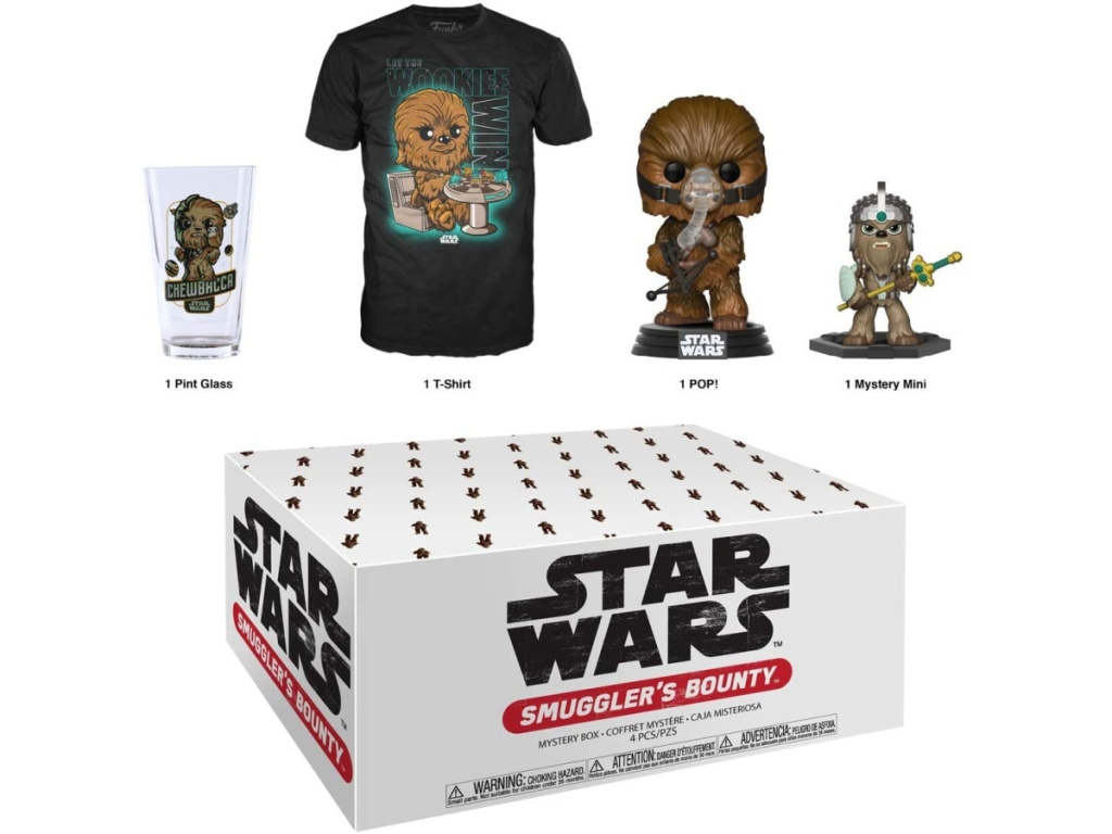 Funko Pop! Subscription Box Wookie Characters