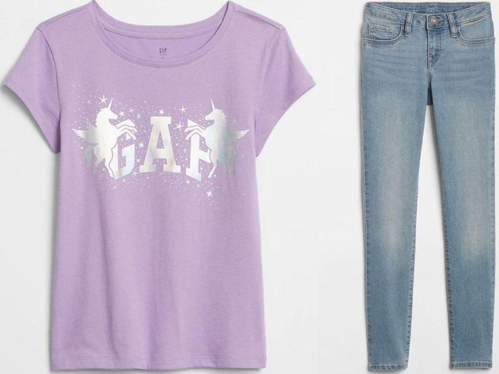 kids shirt and pants