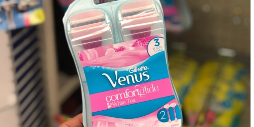 Gillette Venus Disposable Razor 2-Count Only $3.62 Shipped on Amazon