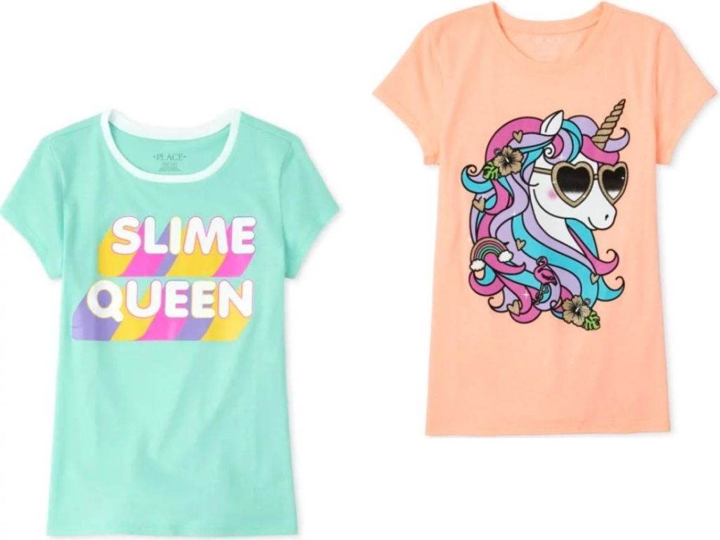 two girls t-shirts