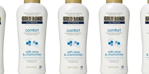 Gold Bond Body Powder w/ Aloe Only $3.59 Each on Amazon (Regularly $7)
