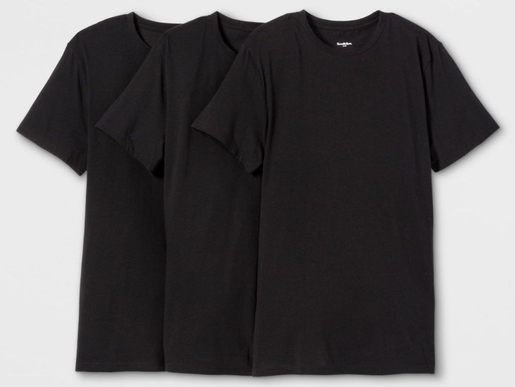 three Goodfellow Undershirts