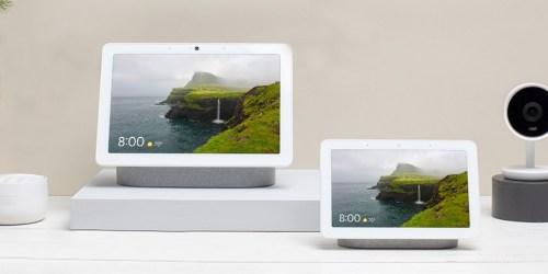 Google Nest Hub & Nest Hub Max Smart Display Just $229 Shipped (Regularly $349)