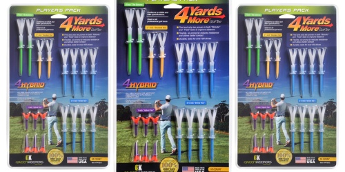 Greenkeepers 4 Yards More Golf Tees Only $6.99 on Walmart.com (Regularly $20)