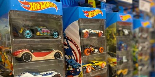 Hot Wheels Track Sets from $11.39 at Target – AND Score FREE Hot Wheels Car 5-Pack!