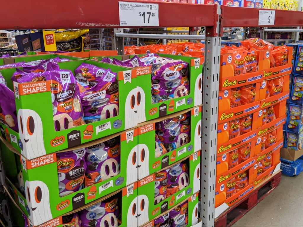 Halloween candy in Sam's Club