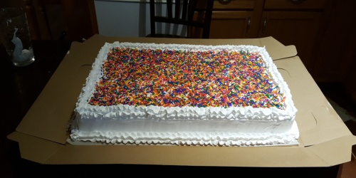 Don't Cry Over Costco Sheet Cake – This Reader Made Her Own!