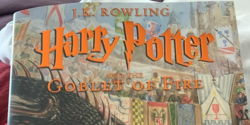 Harry Potter and the Goblet of Fire Illustrated Edition Only $17.75 on Amazon (Regularly $48)