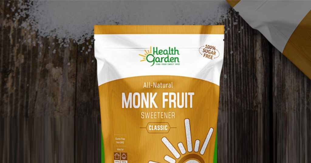 Health Garden 12-Ounce Bag of Monk Fruit Sweetener