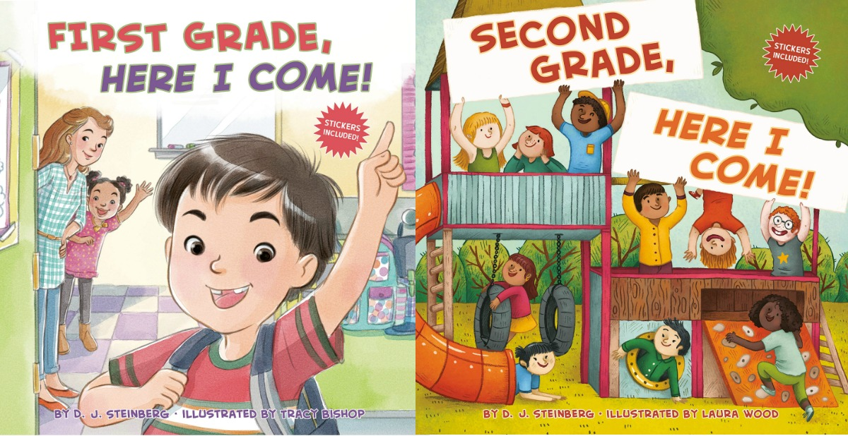 Two kids books from the Here I Come series