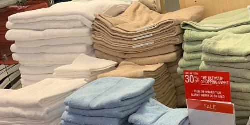 Home Design Bath Towels Only $2.99 on Macys.com (Regularly $14)