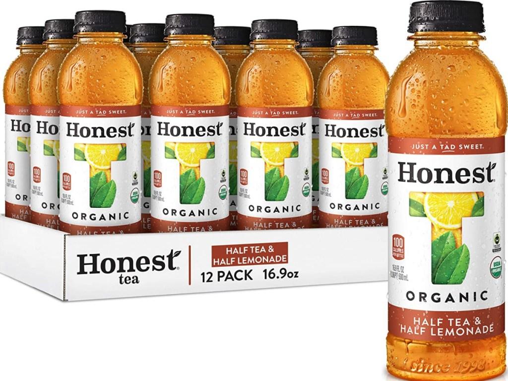 Honest Tea Organic Fair Trade Half Tea & Half Lemonade 12-Pack