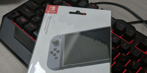 Hori Nintendo Switch Screen Protector Only $4.99 on Amazon (Regularly $10)