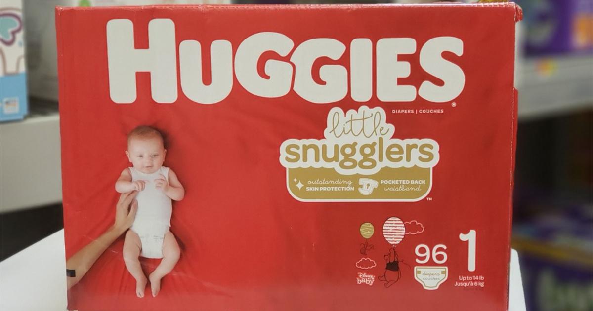 Huggies Little Snugglers 96-count box